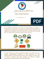 4. Gestión de los EPP en las empresas.pdf