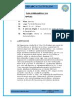 PLAN DE SESION - DIABETES