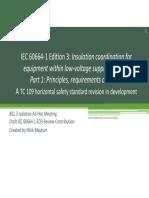 IEC 60664-1 ED3 Insulation coordination
