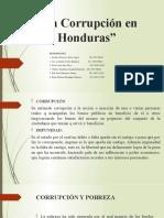 La Corrupción en Honduras