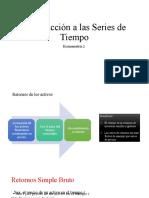 Econometría INTRODUCCIÓN RETORNOS - copia