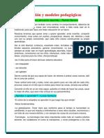 Educación y modelos pedagógicos,PAOLA