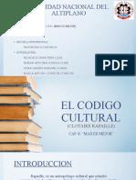 CODIGO CULTURAL