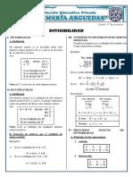 Divisibilidad-teoria de Numeros - Mcm y Mcd