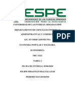 Resumen Ley Organica de Economia Popular y Solidaria