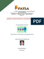 Proyecto Capacitacion Equipo Tar Grupo f Fatla Mpc012011