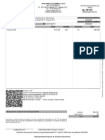 Factura de venta - FE1107