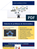 SOLUCIÓN PROBLEMAS DE ELECTROSTÁTICA