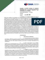 RESOL 1246 SMA, Requerimiento de Ingreso