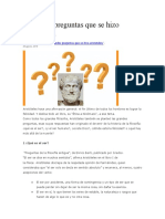 5 preguntas aristoteles