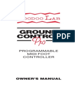 Ground Control Pro Manual