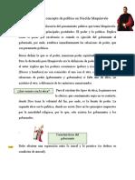Resumen el concepto de político en Nicolás Maquiavelo.docx