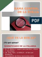 PANORAMA GENERAL DE LA BIBLIA