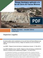 4 - Riesgo Geologico en Cierre Faenas - A. Gonzalez y O. Glavez - A. Minerals.pdf