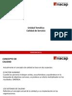 INACAP-CALIDAD DE SERVICIO