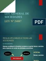 Ley General de Sociedades 1