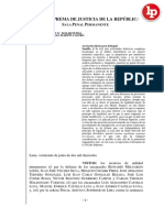 Criterios para la configuración del delito de asociación ilícita para delinquir [R.N. 2610-2017, Lima]
