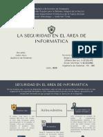 Auditoría de Sistemas - Seguridad en el área de sistemas informáticos.