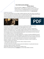 CUENTO POLICIAL 8ª AÑO