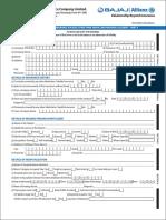 Claim Form -New Reimbursement Form A+B
