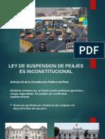 PPT  FINAL - COBRO DE PEAJES