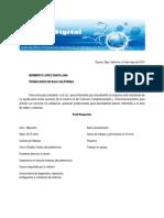 Carta de Solicitud de Practicas Profesionales