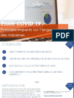 Etude Covid-19 d'Admical