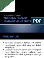 NURSING HELATH MANAGEMENT NUTRISI-1