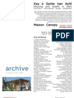 2010 Maison Canopy ARCHIVE Competion