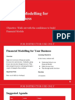 GA Financial Modelling for Your Business - Michael Batko