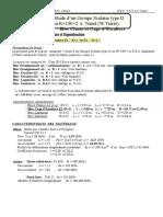 Calcul G.S Type D Esc2 R+2