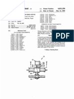 Rotary shaft position reed switch (US patent 4831350)