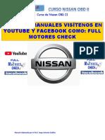 Nissan OBD II