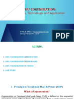 Cogeneration Applications
