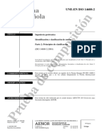 (PI)UNE-EN ISO 14688-2.Suelos