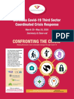 Third Sector Coordinates Crisis Response Effort – Close Out Report