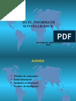 4. Date, info si Intel