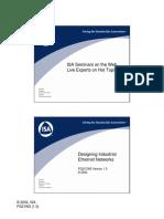 Industrial Ethernet Series Part 3 Designing Industrial Ethernet Networks (PDF)