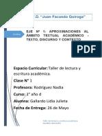 ACTIVIDAES EJE 1_Taller lectura y escritura académica