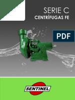 Catálogo Centrífugas Sentinel FE