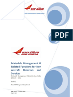 Air India Material Planning Training Manual18