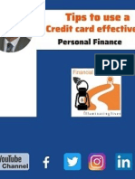 17 Tips to Use a Credit Card Effectively