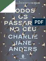 Todos os Pássaros no Céu - Charlie Jane Anders