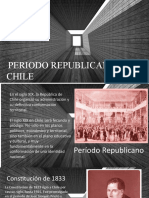 período republicano en chile