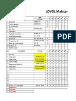 Lovol Maintenance Chart Sheet.xlsx