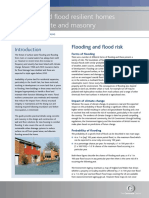 How to build flood resilient homes using concrete and masonry