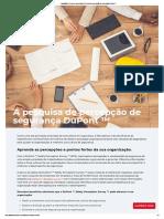 Avaliação de riscos de segurança _ Pesquisa de percepção de segurança DuPont ™