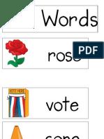 o_e Word Poster