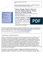 Marchetti, R., & Tocci, N. (2009). Conflict Society_ Understanding the Role of Civil Society in Conflict. Global Change, Peace & Security, 21(2), 201–217
