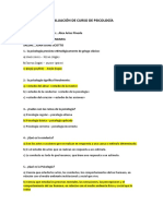 EVALUACIÓN DE PSICOLOGÍA